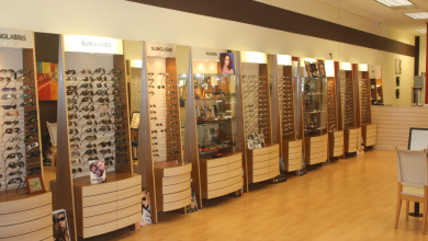 دراسة جدوي مشروع محل لبيع النظارات